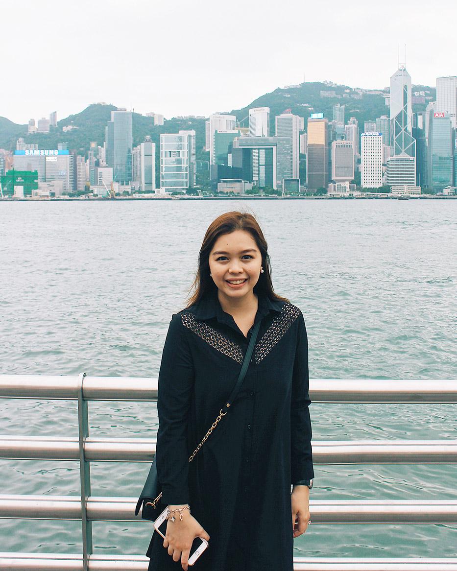 Pearl Margaret in Hong Kong