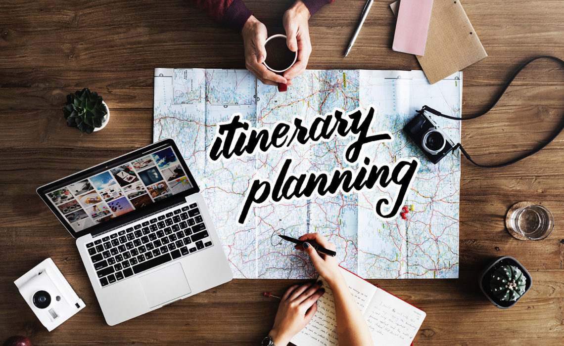 Planning an Itinerary