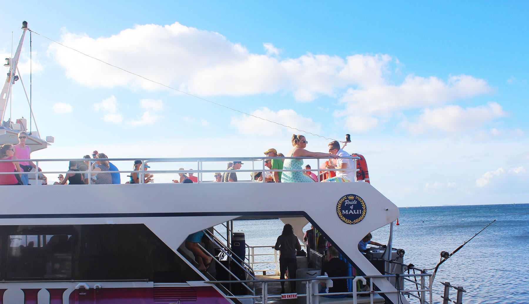 Pride of Maui Catamaran - PearlMargaret.com