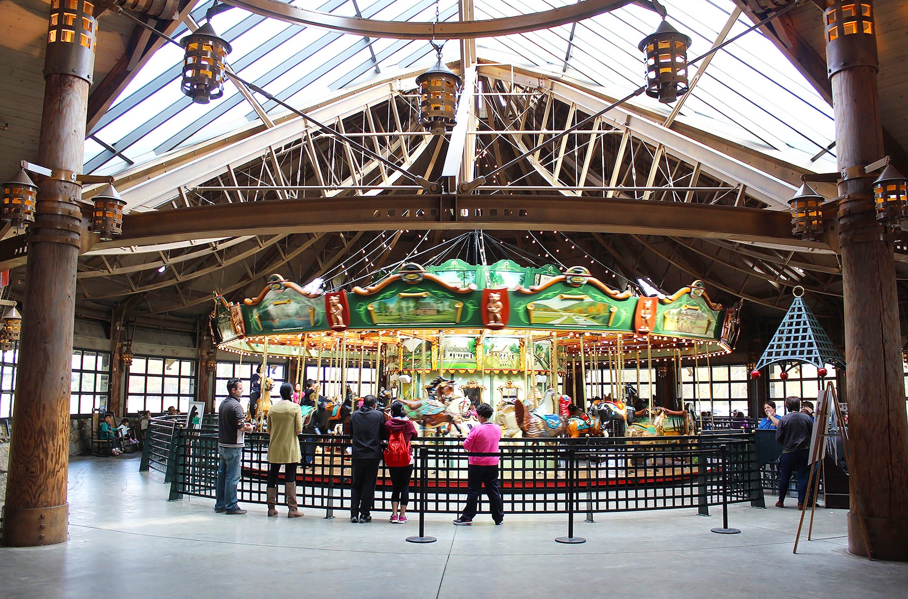 Bear State Park Merry-Go-Round, new York - PearlMagaret.com