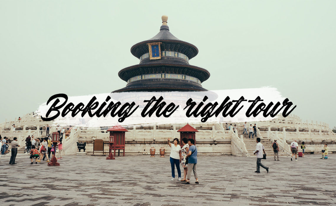 Guide to booking the right tour