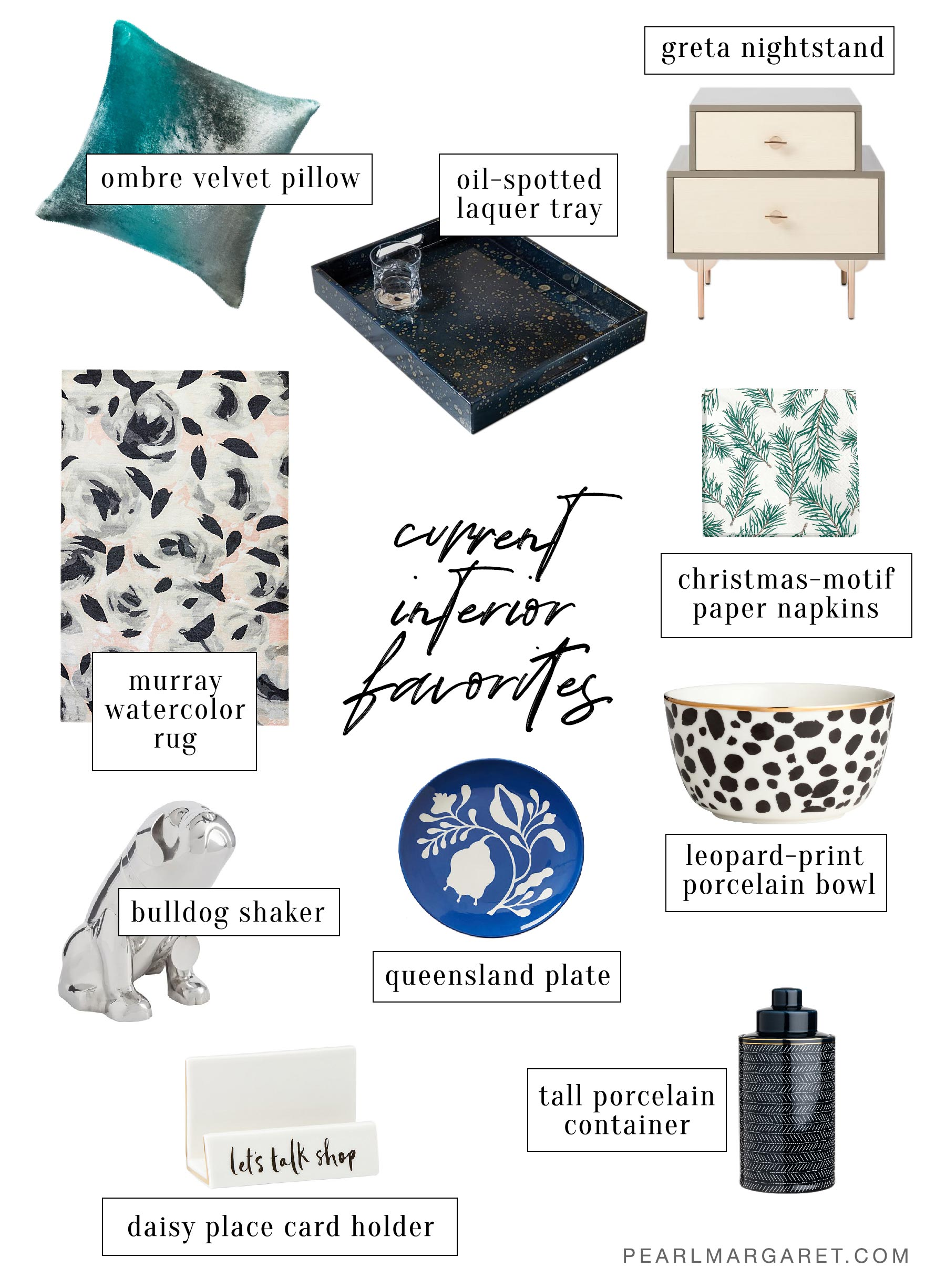 current interior favorites