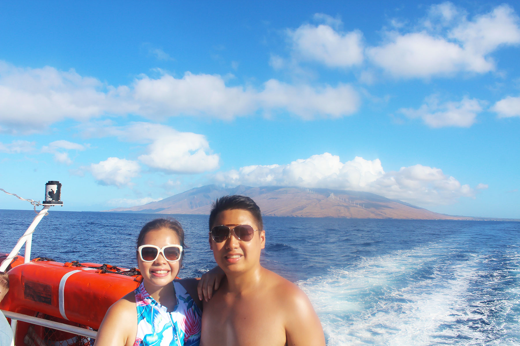 Riding the Pride of Maui at Molokini Crater - PearlMargaret.com