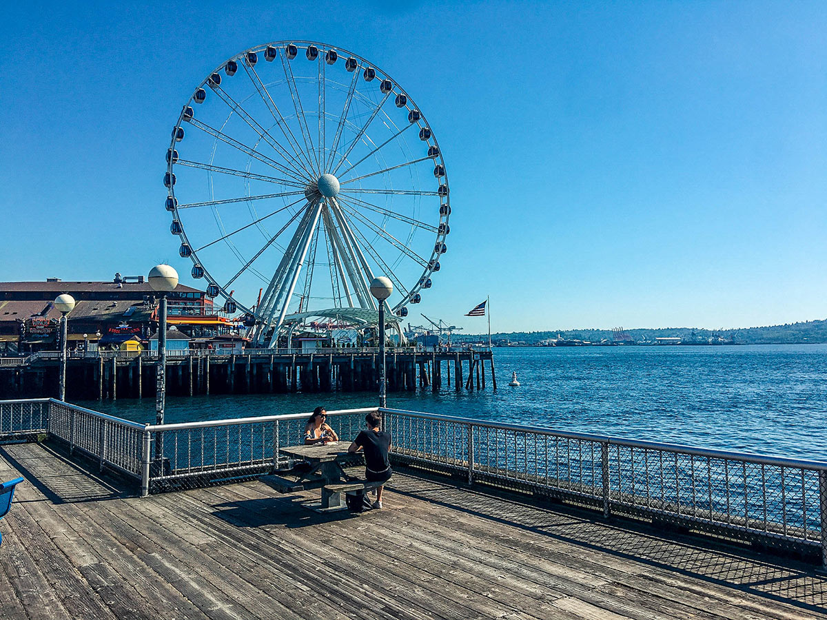Seattle Waterfront - PearlMargaret.com