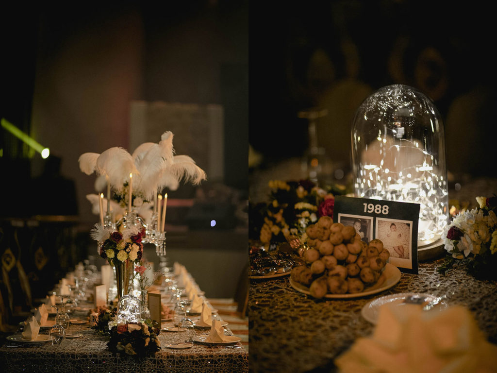 Maynila Ballroom Details - Vintage Wedding